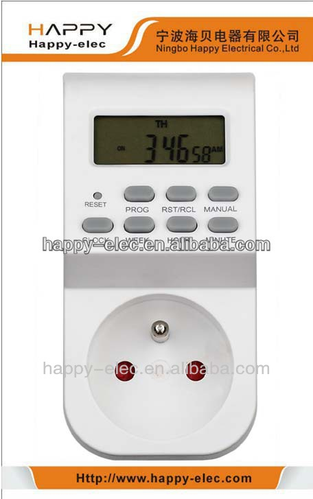 230Vac Weekly Programmable Digital Timer