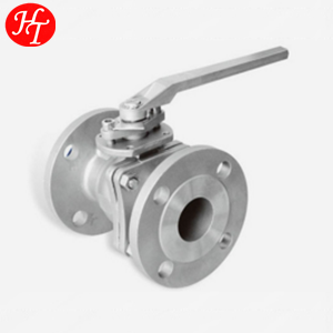 2PC FLANGED BALL VALVE / CHINA FACTORY