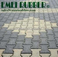 driveway bricks/ recycled rubber pavers