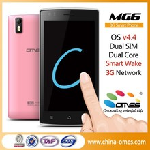 "Welcome Exclusive Distributor ! OMES Mobile 5"" 5inch MG6 IPS screen Dual/Quad Core Android 4.4 5 inch android phone"