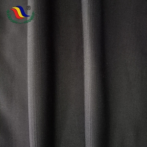Design Black Shirting Functional 100 % Polyester Brush Tricot Factory Direct Fabric