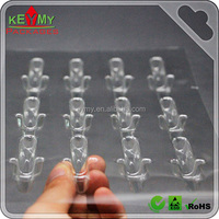Custom high quality clear plastic pvc pet tray for capsule, 2015 cheap clear plastic trays for small parts