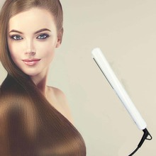 Professional Ceramic Tourmaline Ionic Flat Iron Hair Straightener Straighteners & Curls with Adjustable Temperature