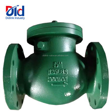Flexible 5Inch 125LBS 200WOG Rubber Tilting Disc Check Valve For Water