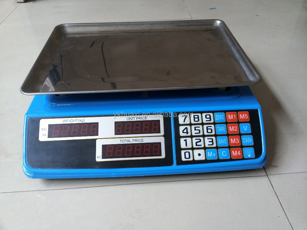 Cheap Electronics and Digital 30kg Pricing Weighing Scales