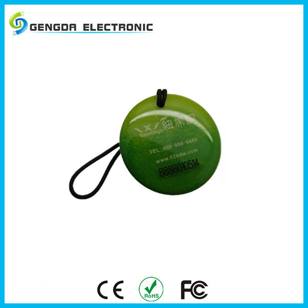 Top quality customised design IP68 T5577 EM chip plastic smart uhf rfid tag made in china
