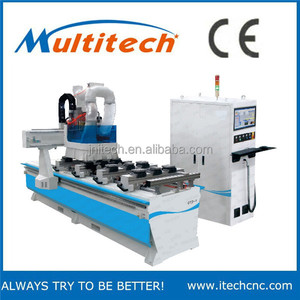 Jinan best PTP 3d wood boring drilling cnc router machine / circle ATC wood cnc machinery with single arm