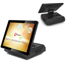 High quality screenandroid pos terminal with printer for restaurants and supermarkets