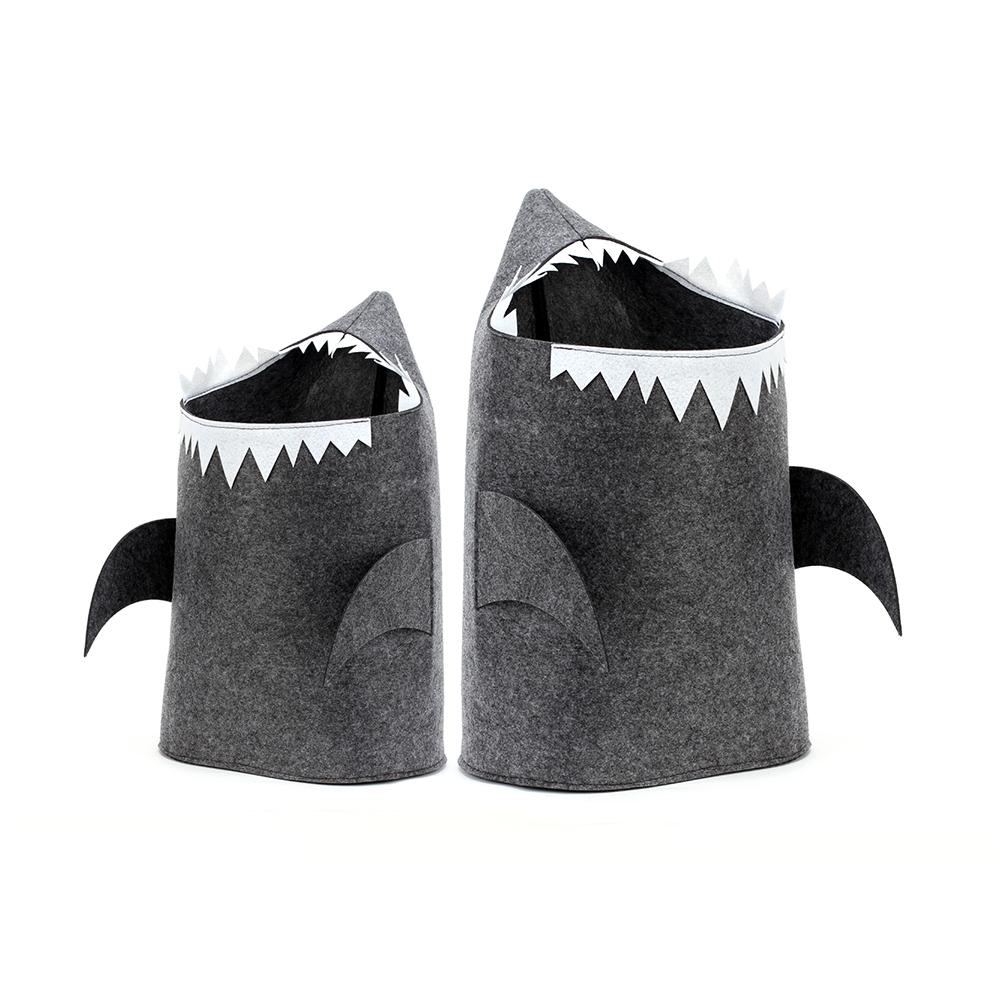 Корзина для белья акула своими руками