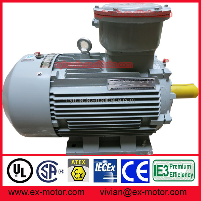 50kw 180kW 200kW 220kW IP55 electric electrical motor