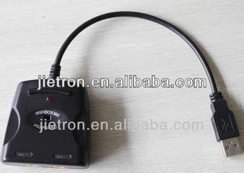 USB Audio Adapter for PS2/PS3/PC/Wii/XBOX 360 (JT-0110204)