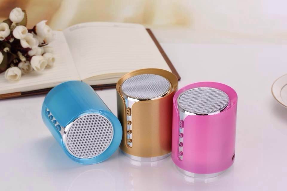 Bluetooth mini speaker with Micro -SD card/USB/FM radio function, wireless speaker portable speaker