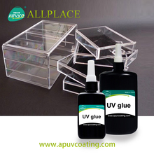 Super Deal UV glue UV Cure Adhesive for Bonding Acrylics