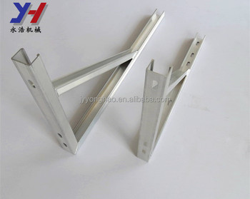 OEM ODM factory manufacture machining sheet metal air conditioner outdoor unit aluminum shelf bracket as your drawing