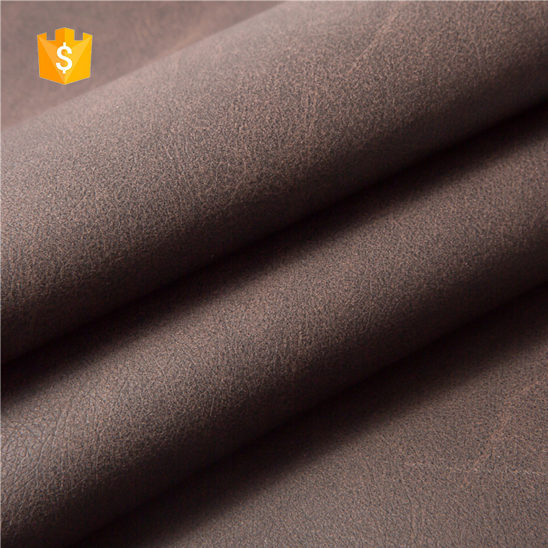 ODM Service dark brown pvc faux leather
