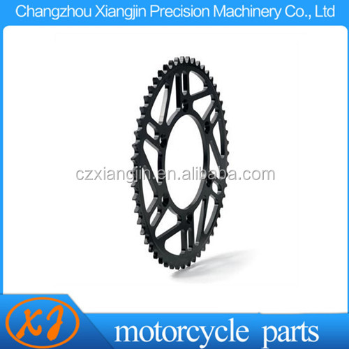China OEM CNC motorcycle big sprocket and small sprocket With any colors