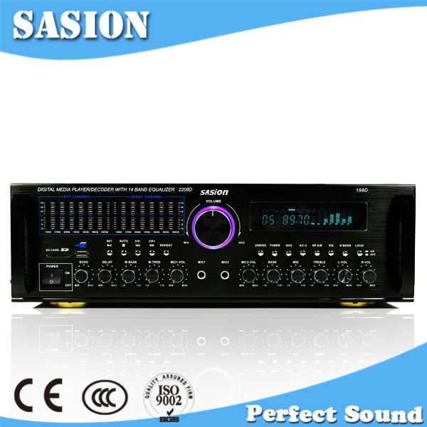 SASION 5.1 channel digital surround sound amplifier