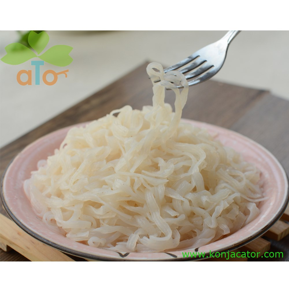 Slimming konjac noodles, shirataki rice, diet health food for vegetarians