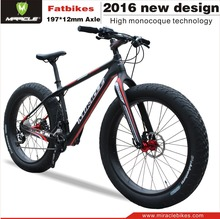 Super style carbon fat bike with carbon fat wheelset complete carbon fat bike accept custom painting