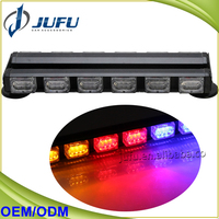 "14.5"" White Green Amber Red Blue 7 Modes Auto Traffic Advisor Directional Light Emergency Warning Strobe Light Bar Kit"