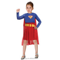 Kids superman cosplay costume