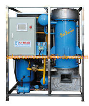 JINDUO Tube ice machine for 1~5Ton per day Edible ice for resturant, hotel,concrete cooling ice plant ect