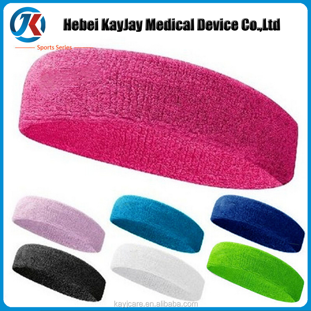 hot selling outdoor sport protector tennis elastic sweatband