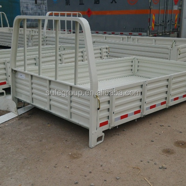 Hot selling truck flat bed box, foton truck bed, all kinds of truck bed