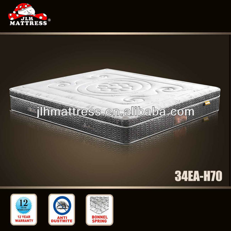 2014 roll up and compress mattress topper famous mattress 34EA-H70