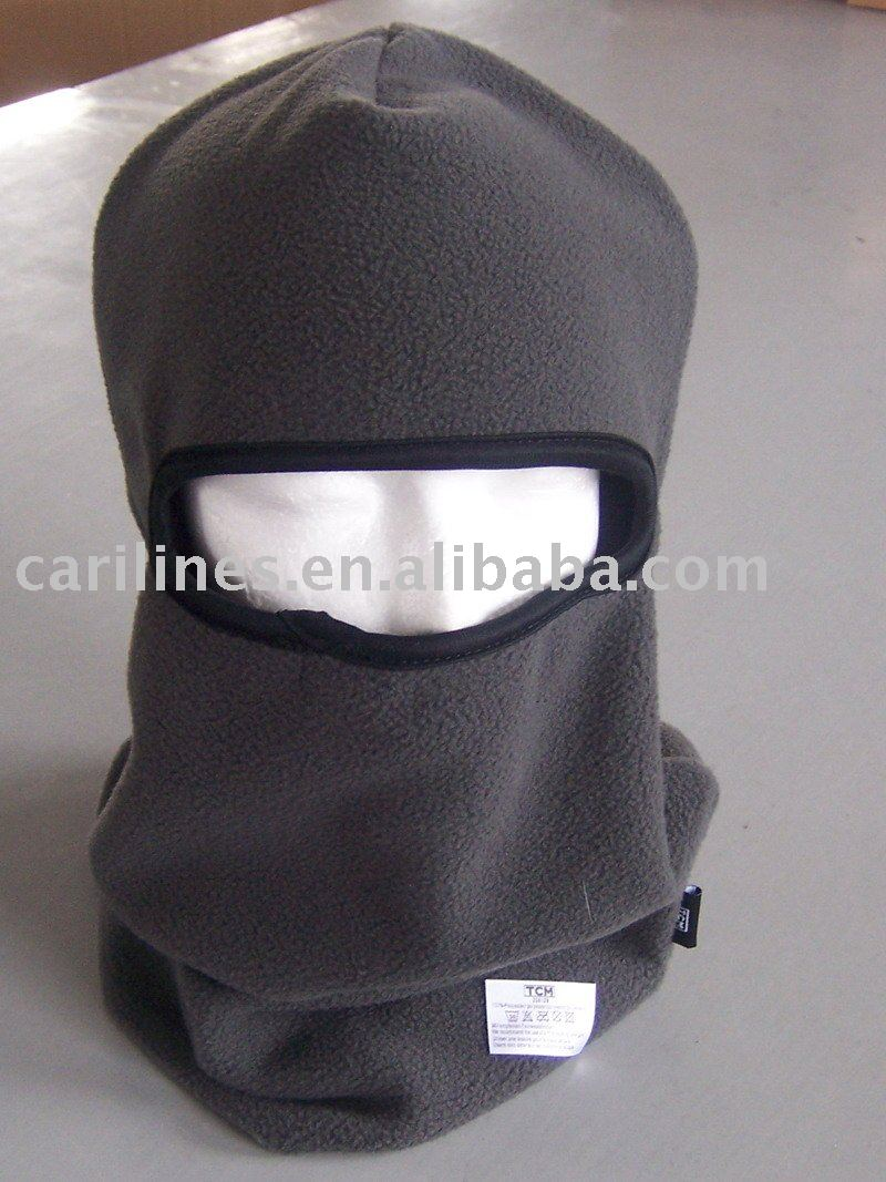 polar fleece motorcycle neck warmer hat or called mask in stock