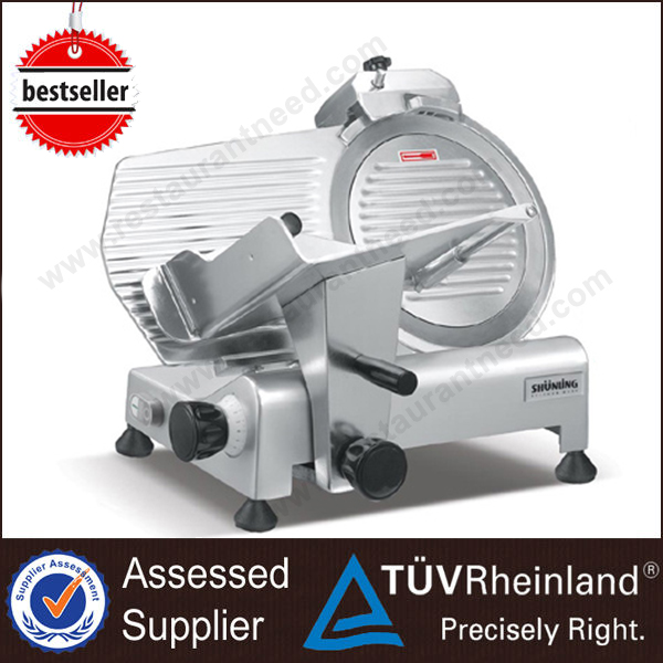2017 Heavy Duty Industrial Frozen Manual Meat Slicer Machine