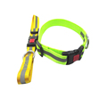 2018 Plain Nylon Locked Reflective Dog Control Collars