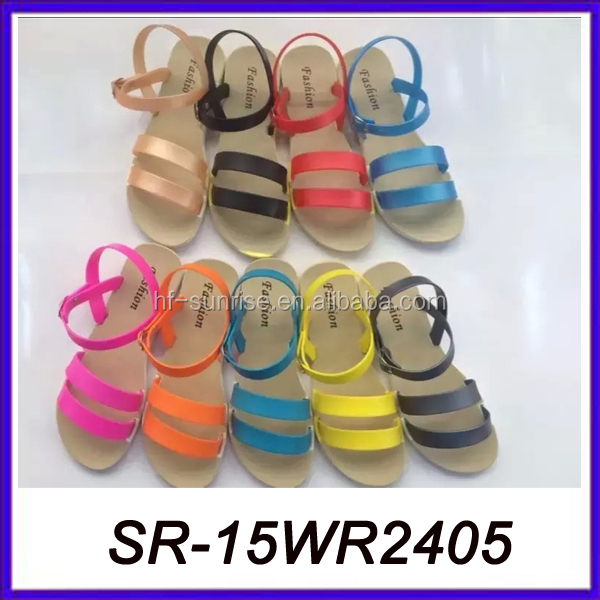 woman sandals new design sandals made in spain fancy sandals