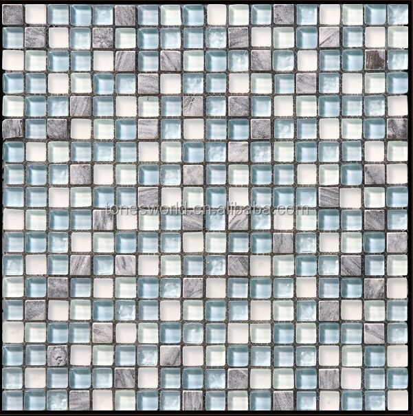 art interior decoration glass and stone mosaic wall tiles