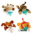 EN71 CE Standard Plush Infant Pacifier Toy Stuffed Animal Baby Feeding Toys
