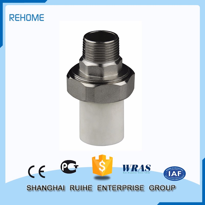 Manufacture good quality Most popular Male Threaded Union ppr pipe fitting supplier customized all types of