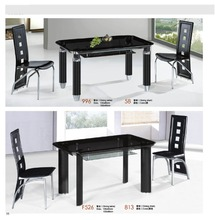 high quality ikea glass dining table factory sell directly YY18