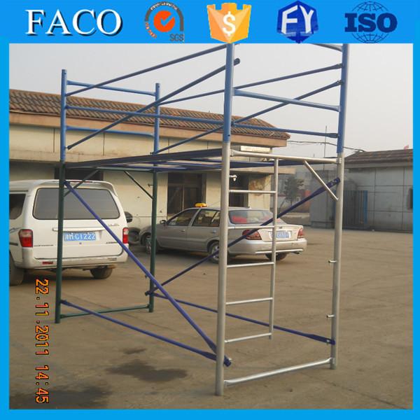 Steel Scaffolding Manufacturers : Tubular metal steel scaffold h frame scaffolding formwork