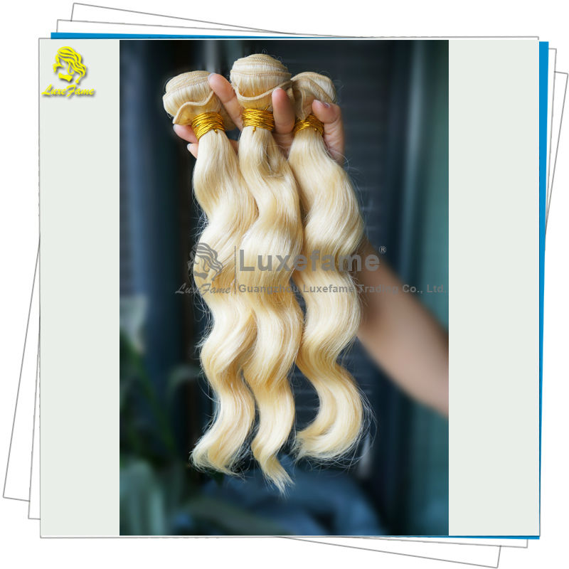European Noble Gold european wavy 613 blonde china noble hair extension