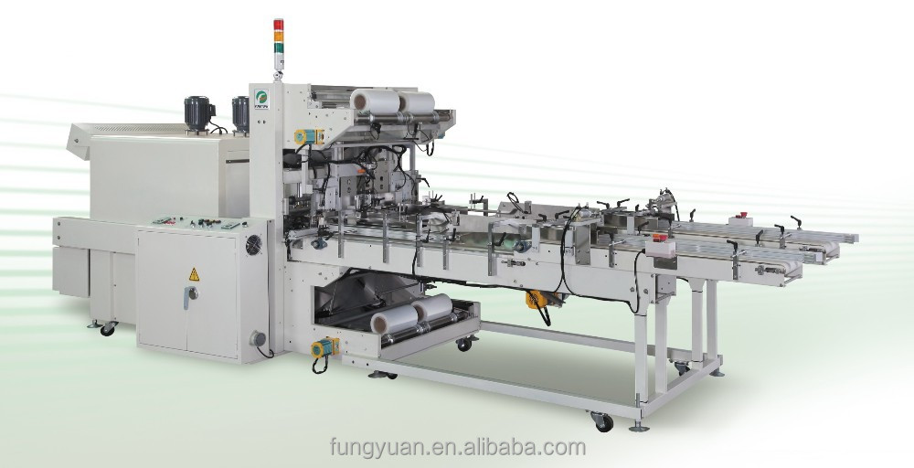 Tape Shrink packing Film wrapping Packaging machine