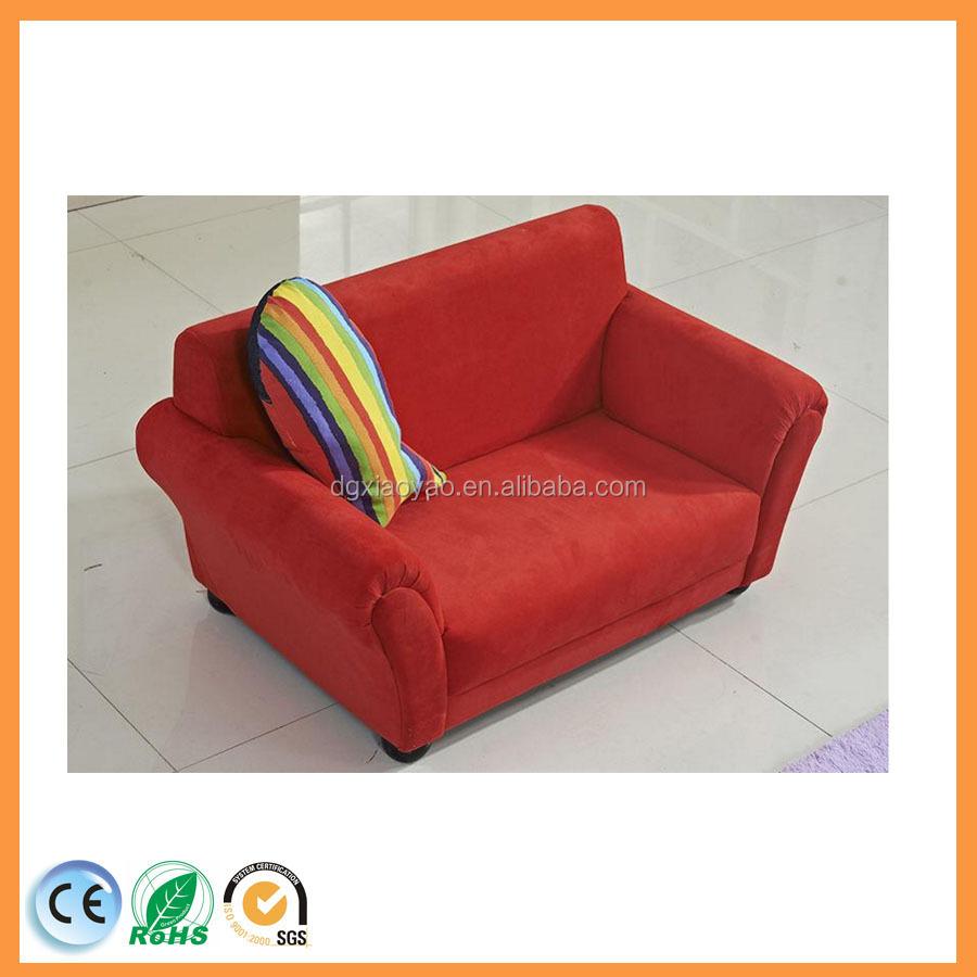 buy fabric material mini kids sofa