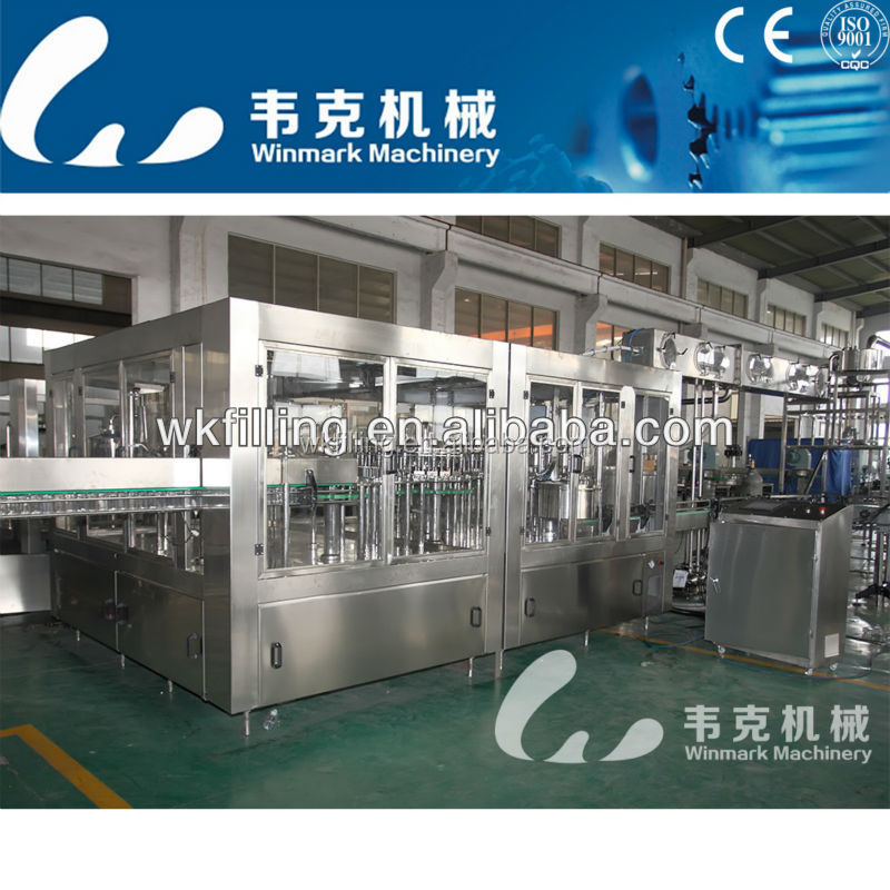 5000-6000bph wine and beverage filler machinery