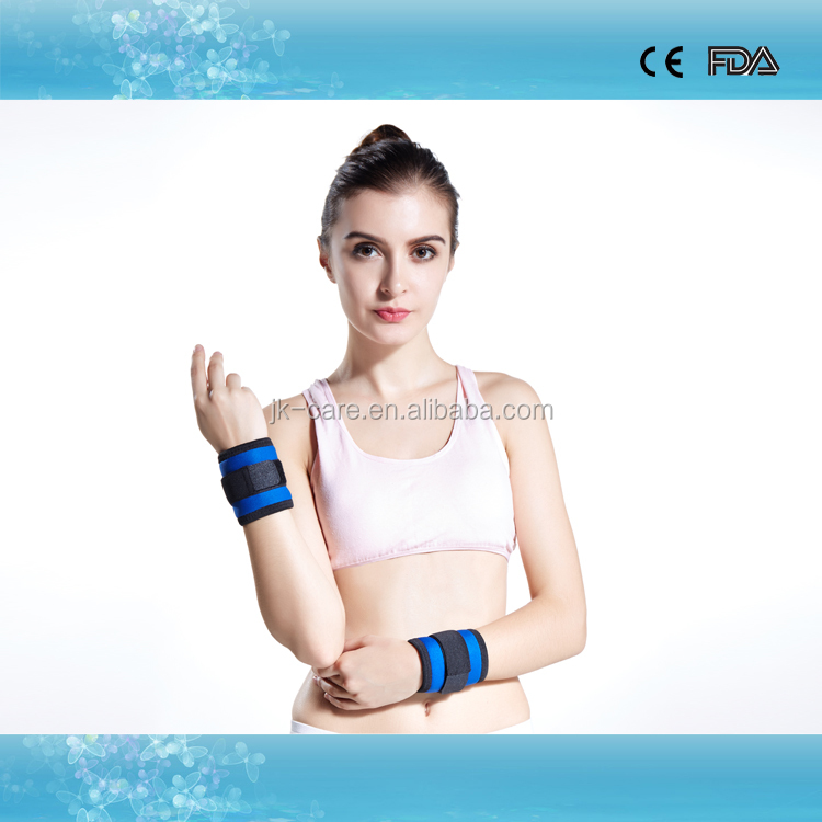 2015 New products sports wristband waterproof neoprene fitness wrist support wristband