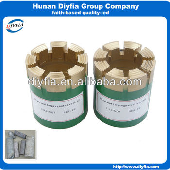 NQ2 NQ3 core drilling bits
