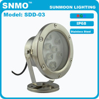 ip68 waterproof super bright 9w powerful led underwater pool light