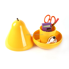 Multipurpose Pear Pod Container / Stationery Home Food Decor Storage