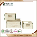 OEM logo wooden wine storage box from zhongyi wooden