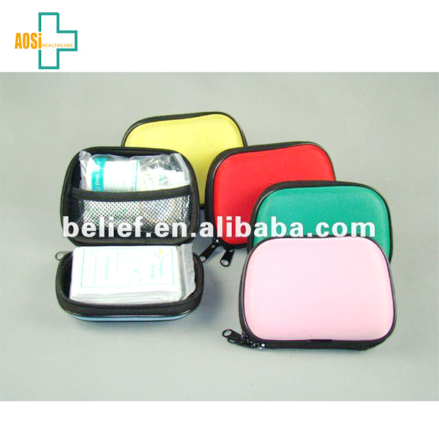 Wholesale medical supplies hotel travel small first aid kit box