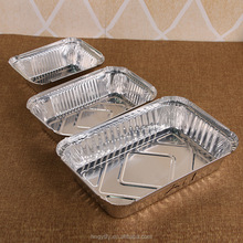 Eco-Friendly Aluminum Foil Container with Light Weight Disposable microwave safe aluminum foil soup bowl/baking pie pan