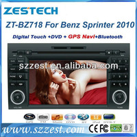 ZESTECH best electronic christmas gifts 2014 car dvd for Benz Sprinter with gps navigation+cd player+car audio